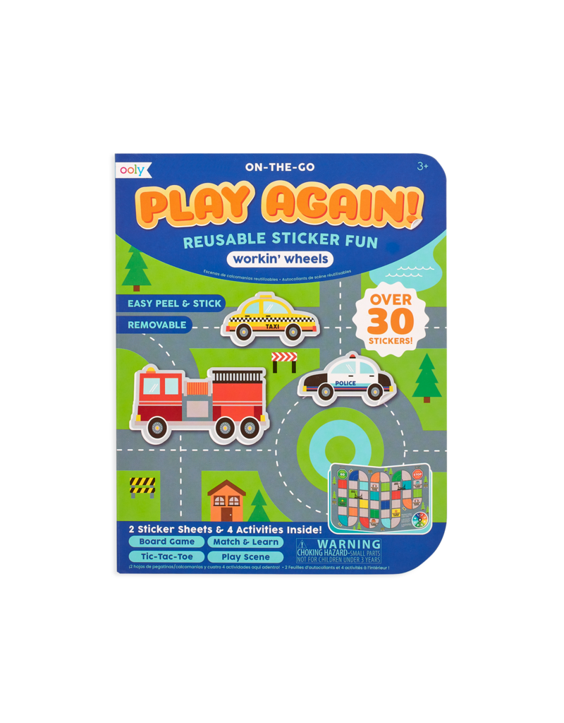 Play Again! Mini On the go Activity kit Working Wheels