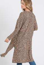 Ciao Bella Leona Leopard Cardigan