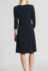 Ciao Bella Faux Wrap V Neck Dress