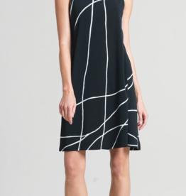 Ciao Bella Swirl Line Swing Dress