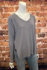 Ciao Bella Frankie Rib Knit Sweatshirt