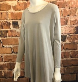 Ciao Bella Rock Cotton Crew Neck Pocket Tunic