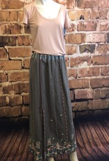 Johnny Was Maiorca Side Slit Maxi Skirt