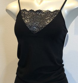 Ciao Bella Carissa Cami V Neck Lace Trim