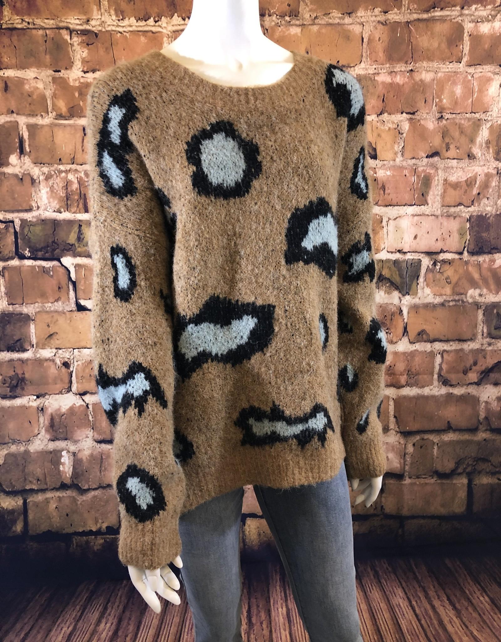 Ciao Bella Cadi Sweater Camel L/XL