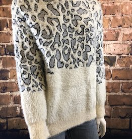 Ciao Bella Cheetah Print Pull Over