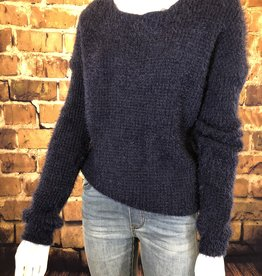 Ciao Bella Navy Jayne Sweater S