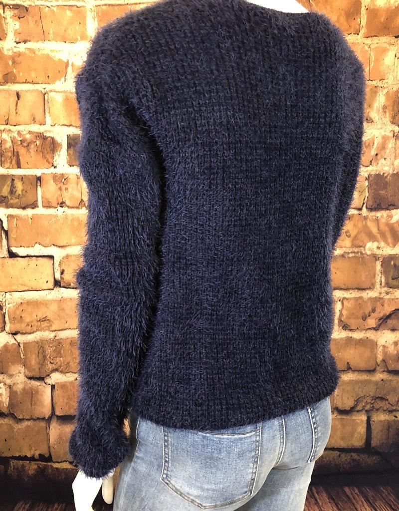 Ciao Bella Navy Jayne Sweater S