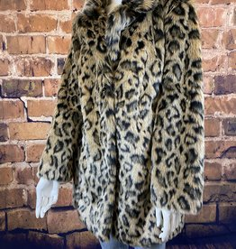 Ciao Bella Cheetah Print Jacket XL