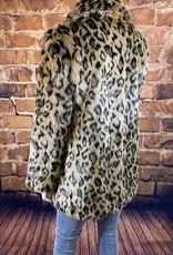 Ciao Bella Cheetah Print Jacket XL