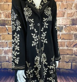 Ciao Bella Embroidered Brush Twill Jacket XL
