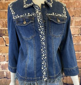 Ciao Bella Pearl Denim Jacket