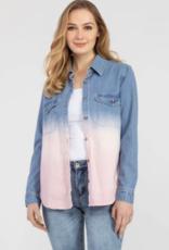 Ciao Bella Long Sleeve Button Up Shirt