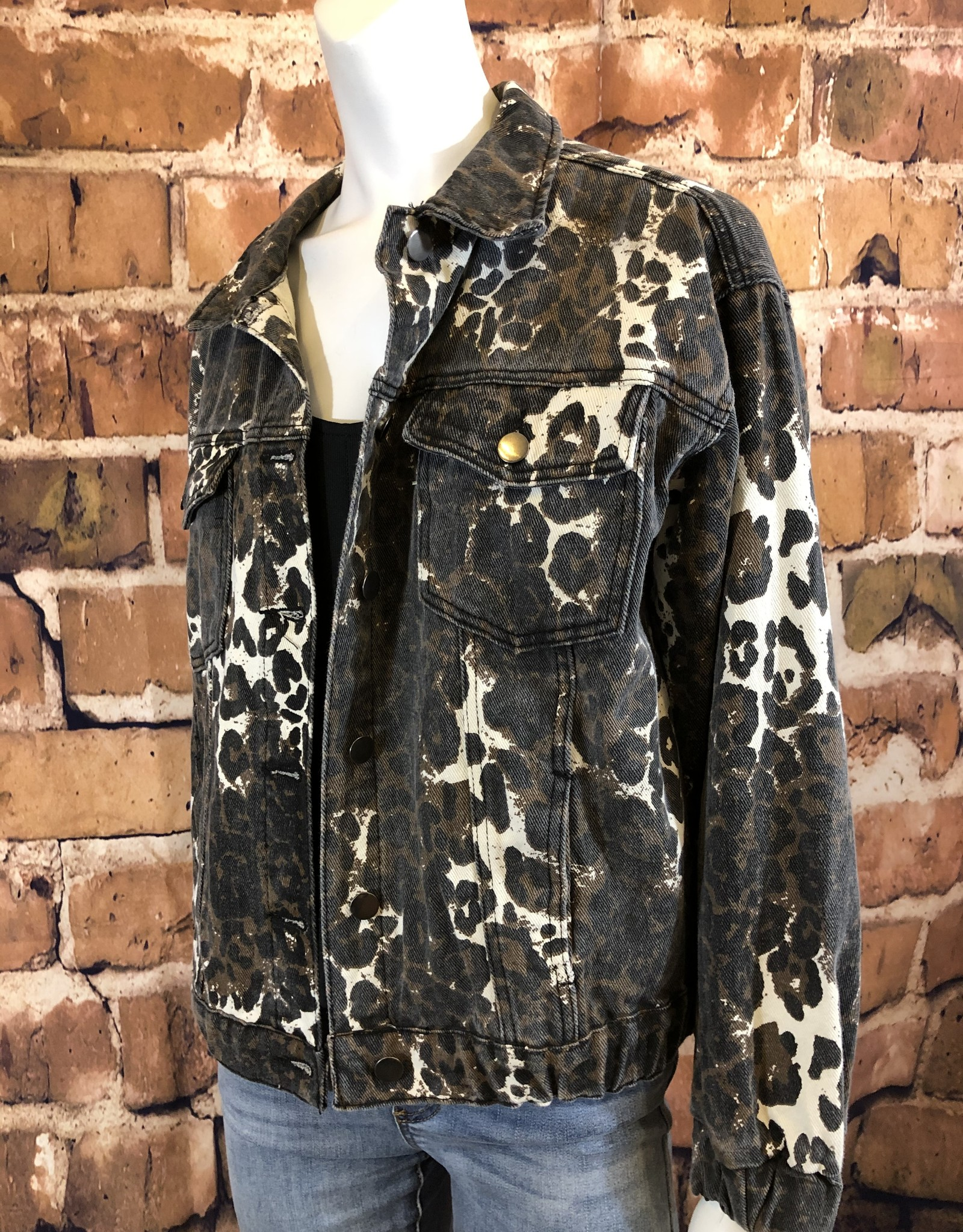 Ciao Bella Perry Print Jacket