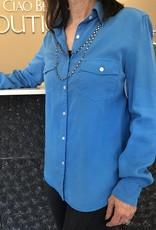 Ciao Bella Woven Pocket Shirt