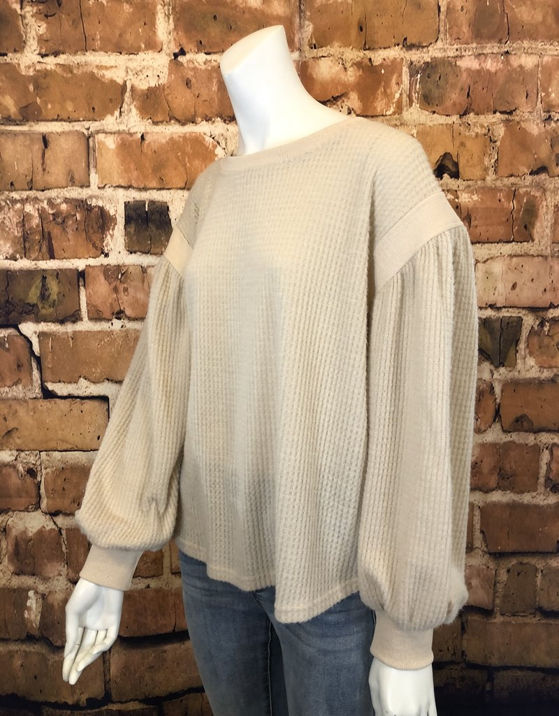 Ciao Bella Long Sleeve Sweater Top