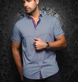 Au Noir Batoelli Short Sleeve Polo