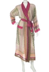 Lightweight Moorish Print Robe One Size