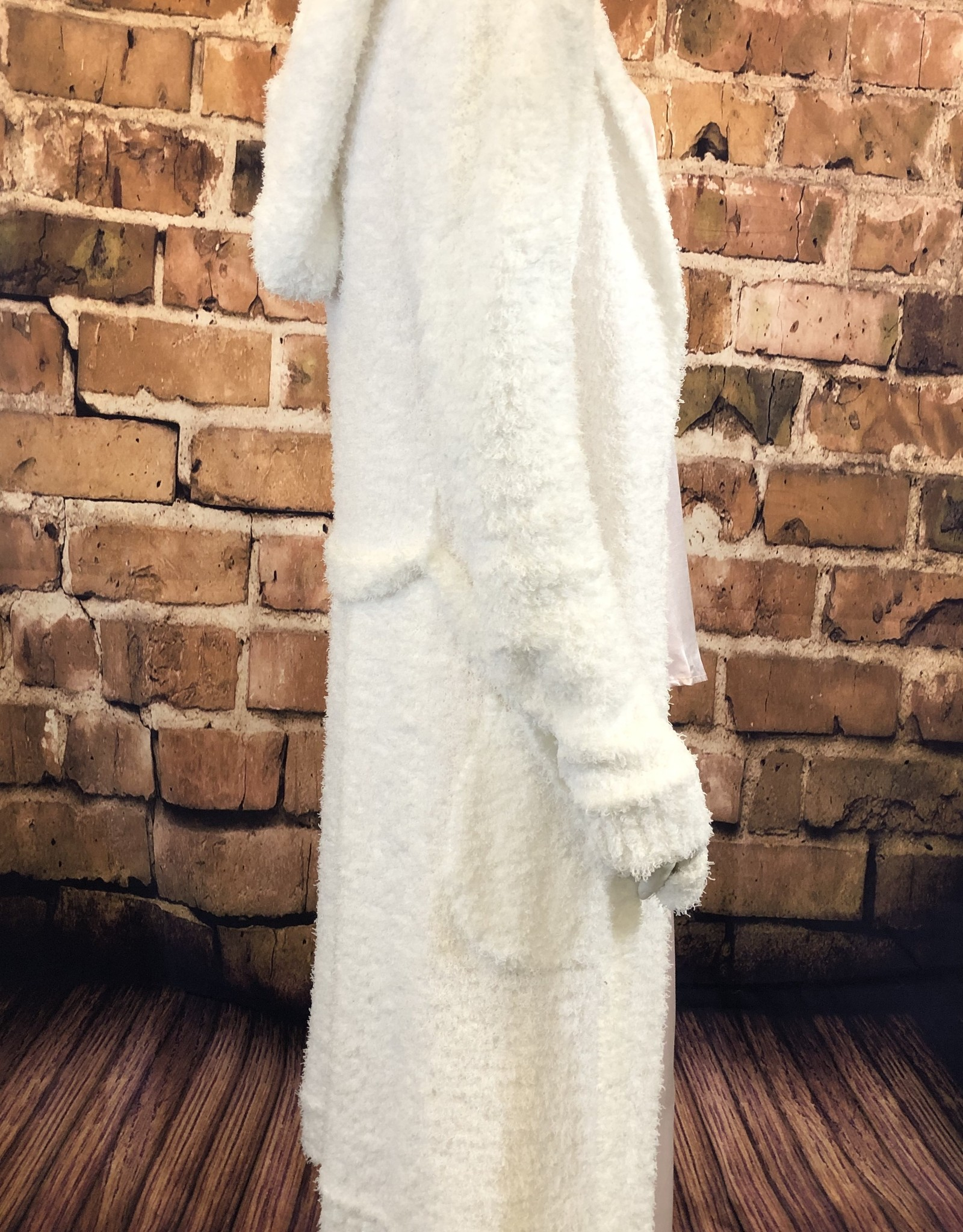 Burbur Robe Cardi With Pockets