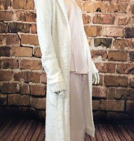 Burbur Robe Cardi With Pockets