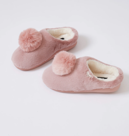 Ciao Bella Fur Pom Slipper