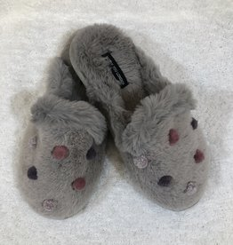 Ciao Bella Mini Pom Mule Slipper
