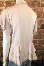 Ciao Bella Button Up Collared Top