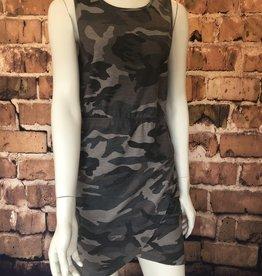 Ciao Bella Jillian Camo Tank Dress
