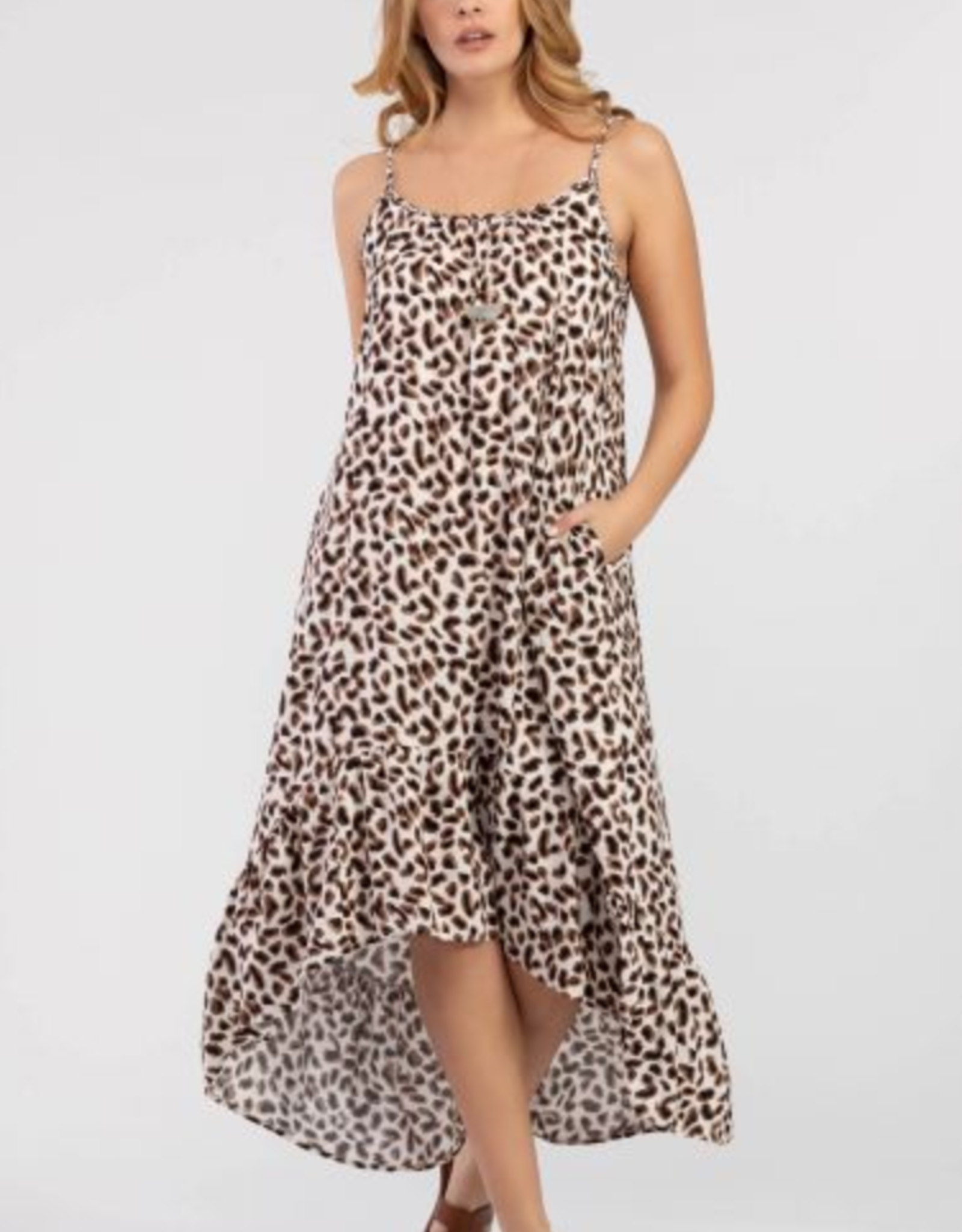 Ciao Bella Elouise Print Maxi Dress