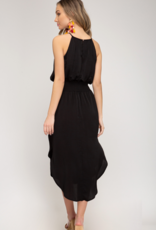 Ciao Bella Scarlett Halter Neck Midi Dress