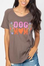 Boho Dog Mom Tee