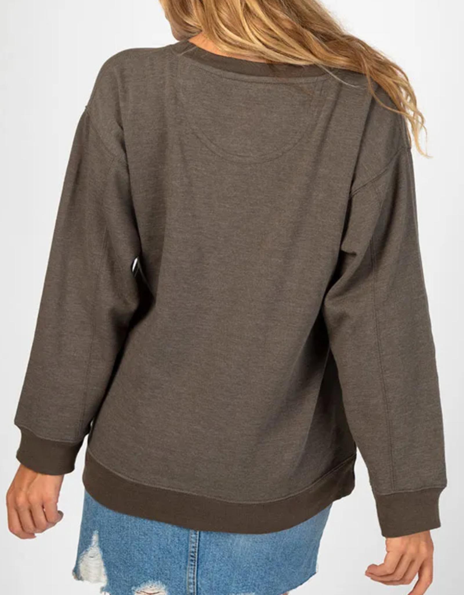 Be Happy Pocket Sweatshirt