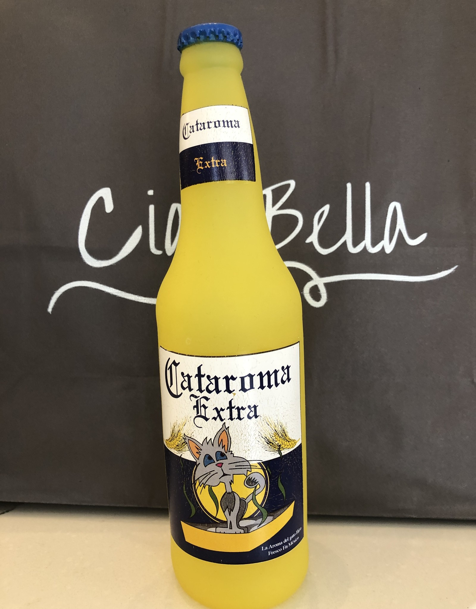 Squeaker Cataroma Beer Bottle