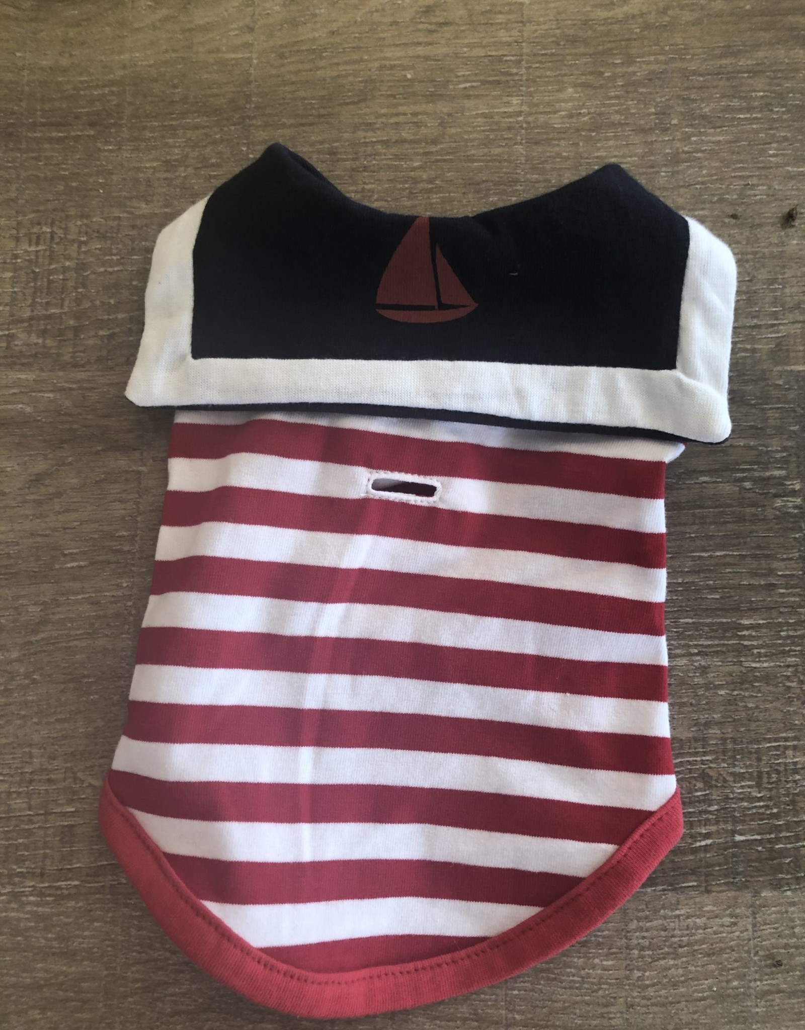 Sailor Boy Tank Red Stripe XS