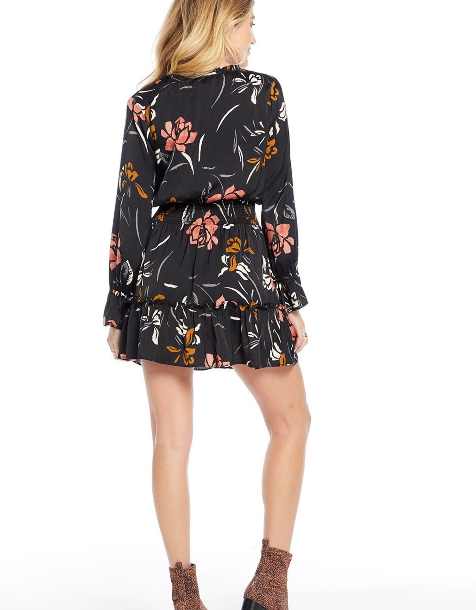 Lena Rose Garden Mini Dress