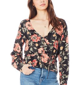 Naples Wrap Blouse