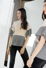 Willow Color Block Knit Top