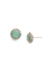 Sorrelli Pacific Opal Earrings Antique Silver