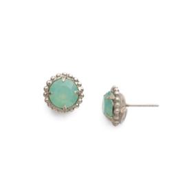 Sorrelli Pacific Opal Earrings Antique Silver