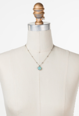 Cushion-Cut Solitaire Necklace