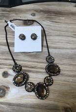 Sorrelli Bronze Iridescent Necklace