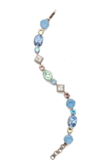 Sorrelli Pasquelina Classic Line Bracelet in Antique Silver