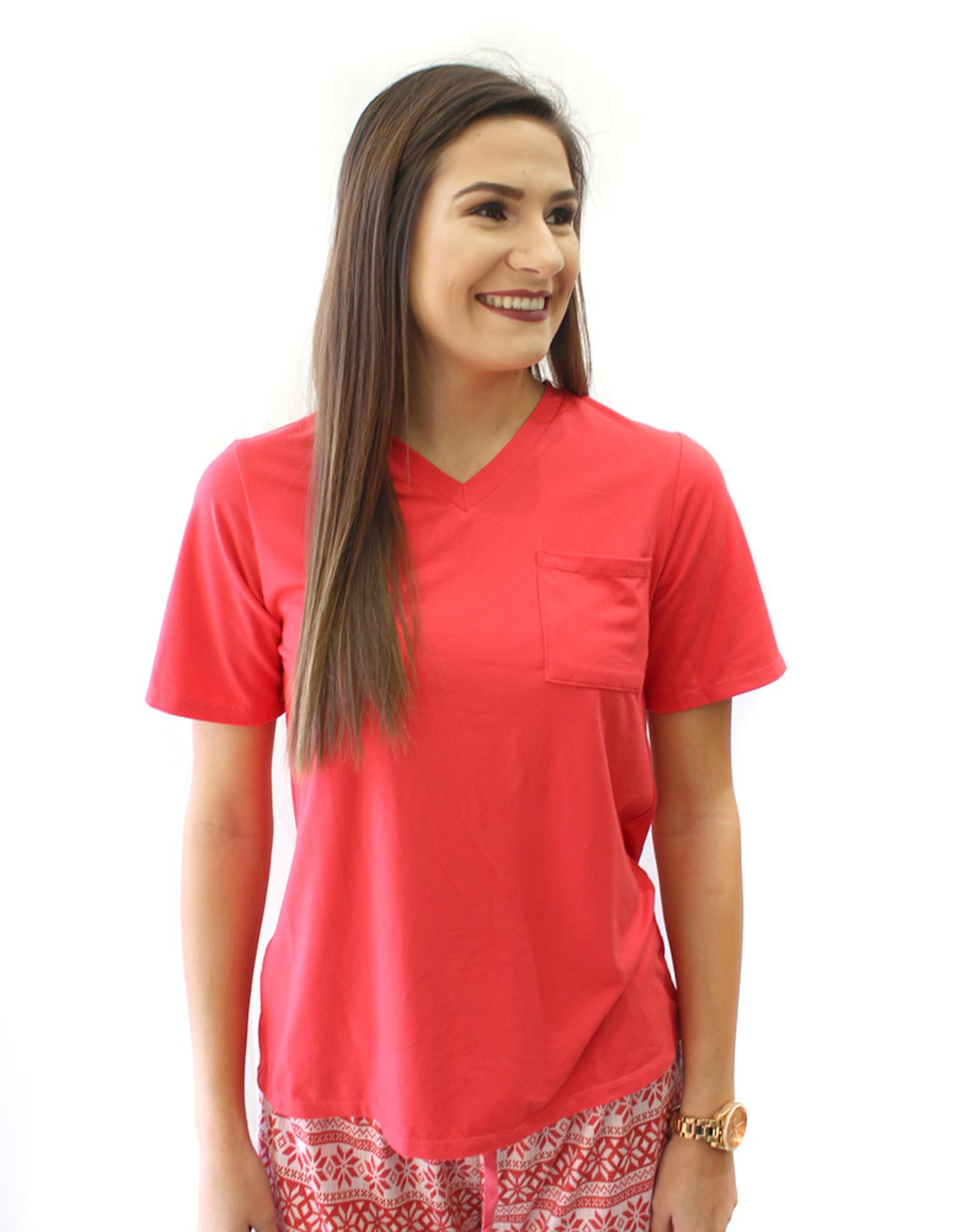 Highlands V Neck Tee