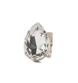 Sorrelli Teardrop Crystal Ring