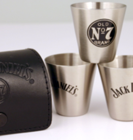JACK DANIEL'S Shot Glass Travel Set