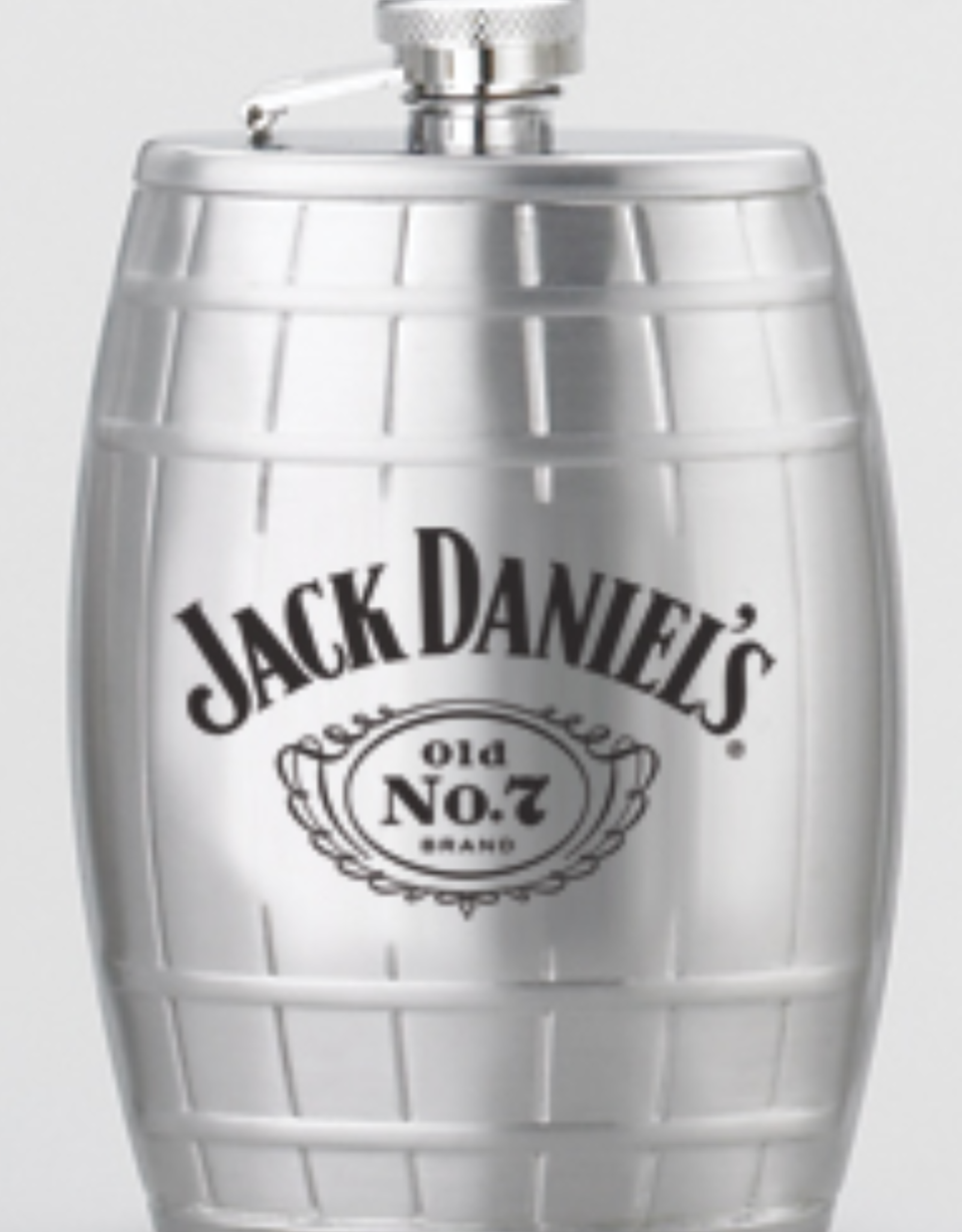 6oz JACK DANIEL'S Barrel Flask