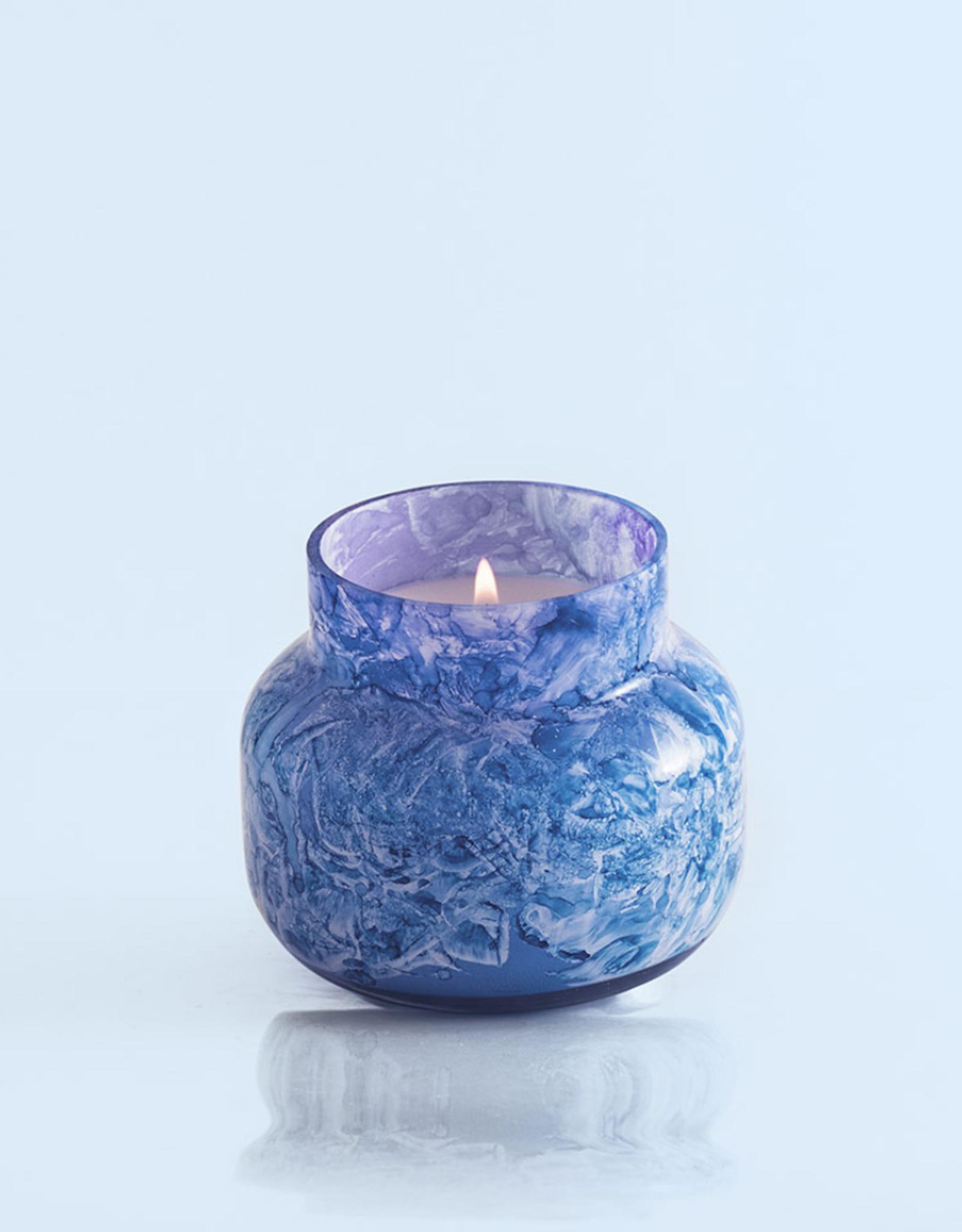 Blue Jean Watercolor Candle 8oz