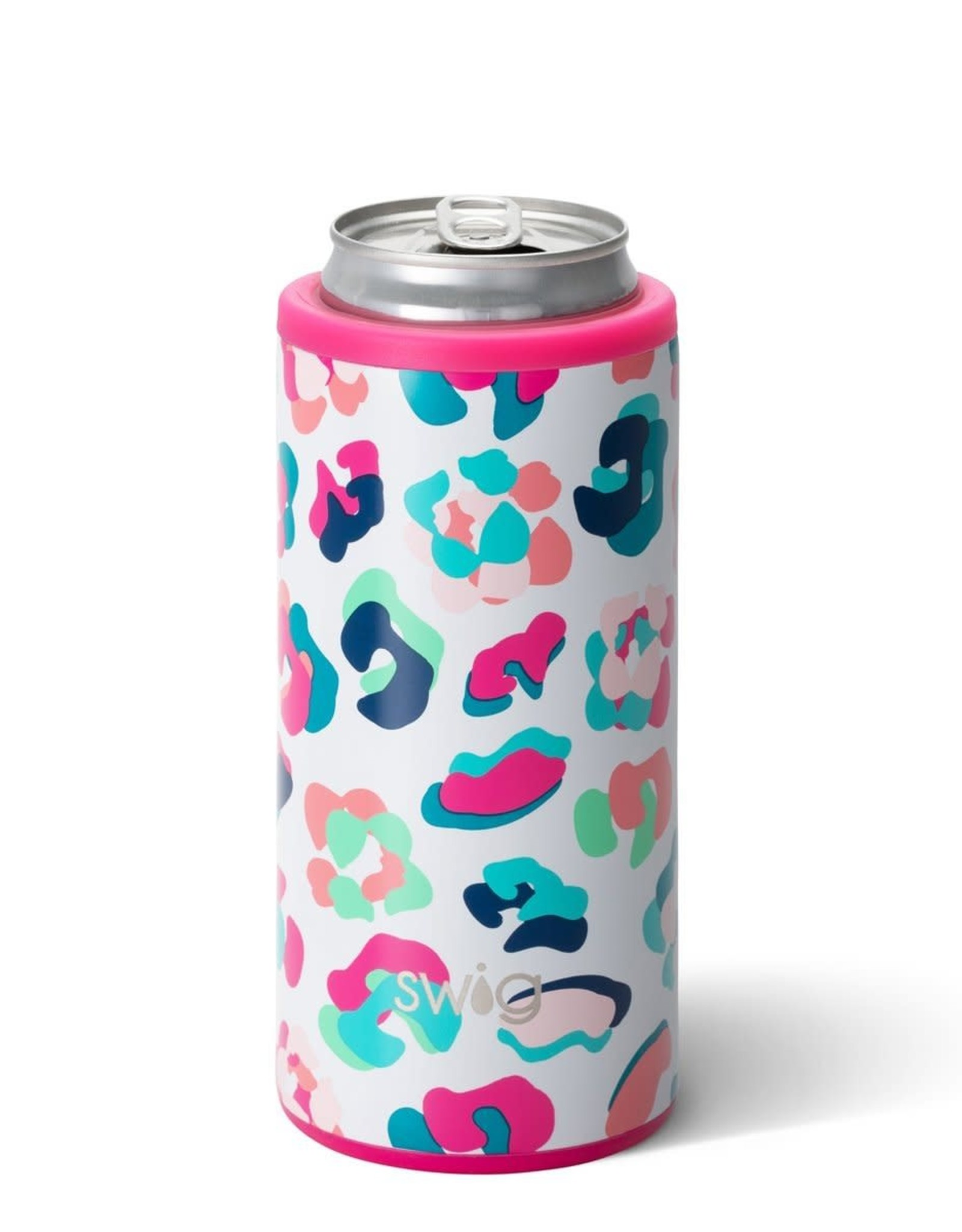 12oz Skinny Can Cooler Party Animal