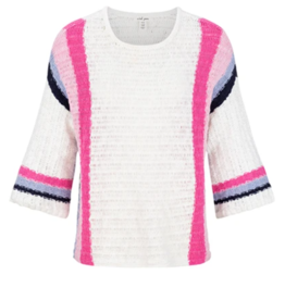Tribal Wide Sleeve Stripe Sweater