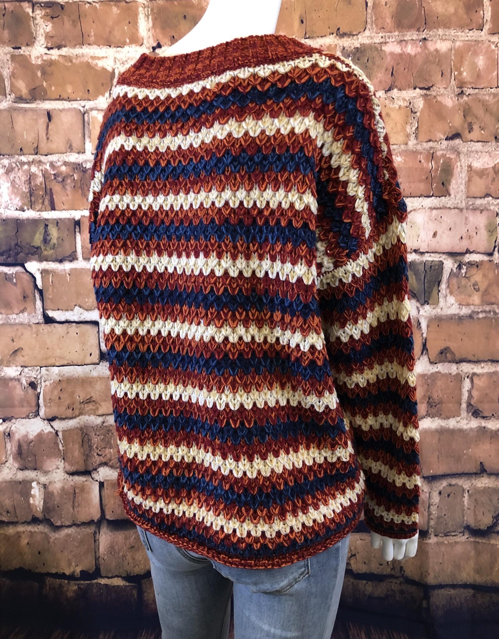 Stripe Knit Sweater